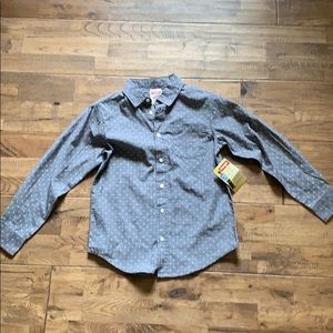 Wrangler youth button up shirt